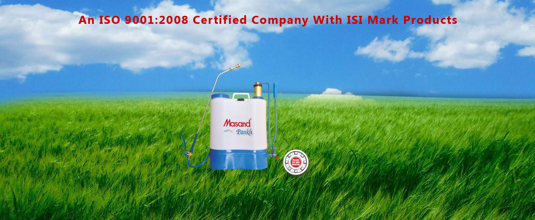 Agricultural Sprayers - Masand Agritech