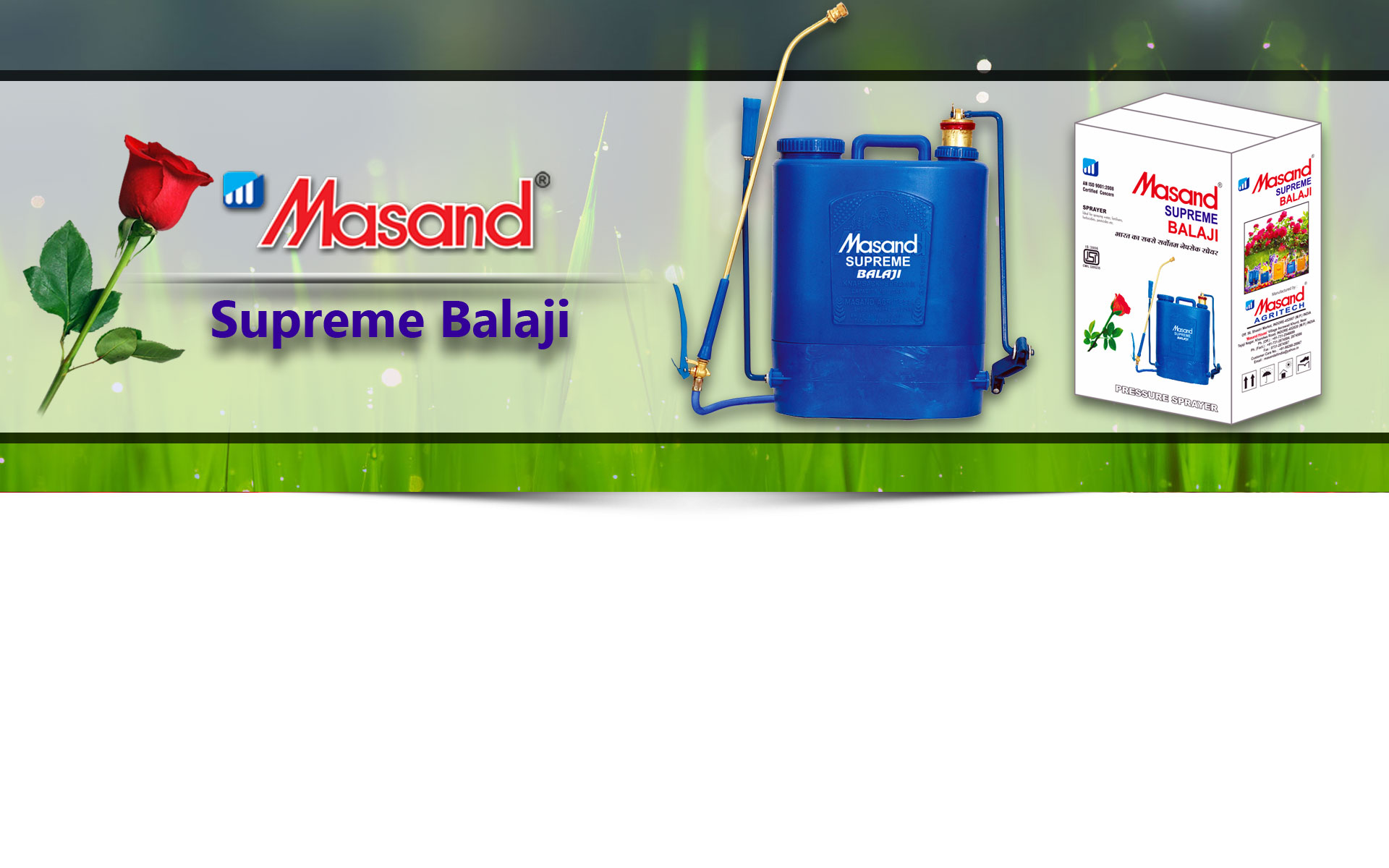 Agricultural Sprayers Suppliers - Masand Agritech